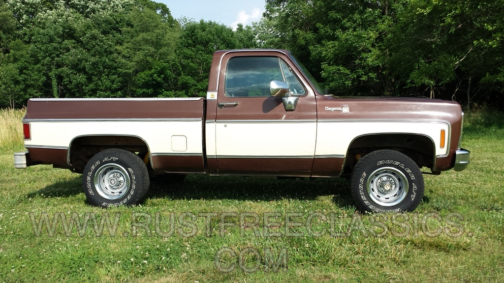 79 K10 Short Bed Swb Cheyenne 4x4 1979 Chevy